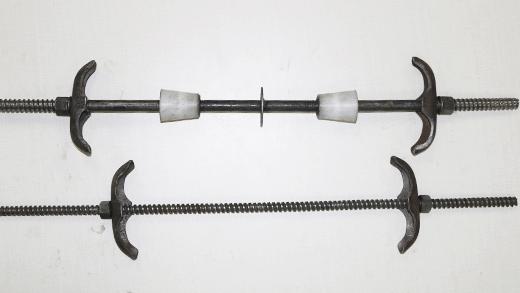 止水螺杆和通丝螺杆