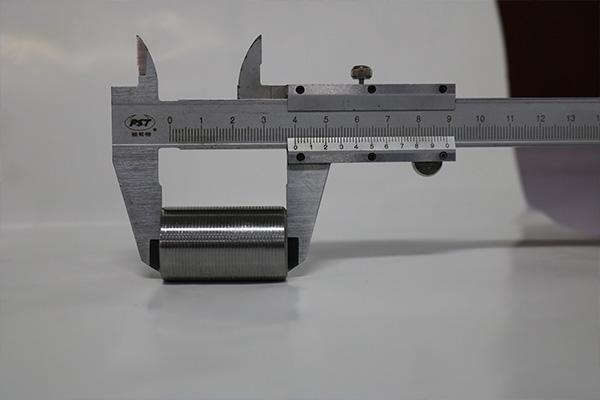 钢筋直螺纹连接套筒3-3测量图
