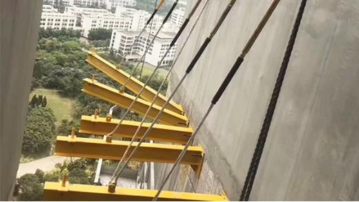 新型悬挑架对比传统施工可节省多少成本?