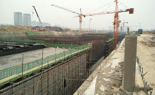 重庆中铁五局地铁项目-松茂建材案例