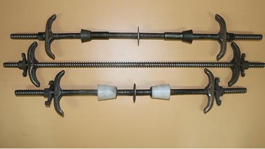 穿墙螺杆造成墙体孔的处理方法