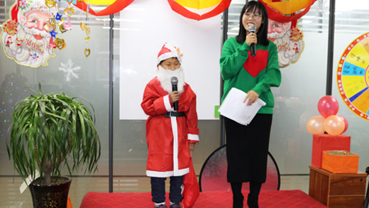郑州松茂建材也过一把洋节日——圣诞节